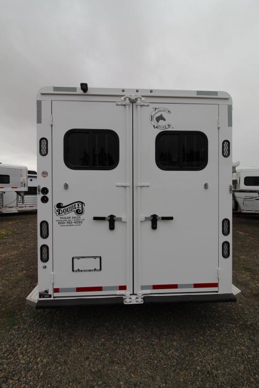 2020 Trails West 12' SW LQ-3 Horse Trailer- Side Tack-Mangers-EasyCare-Slide Out