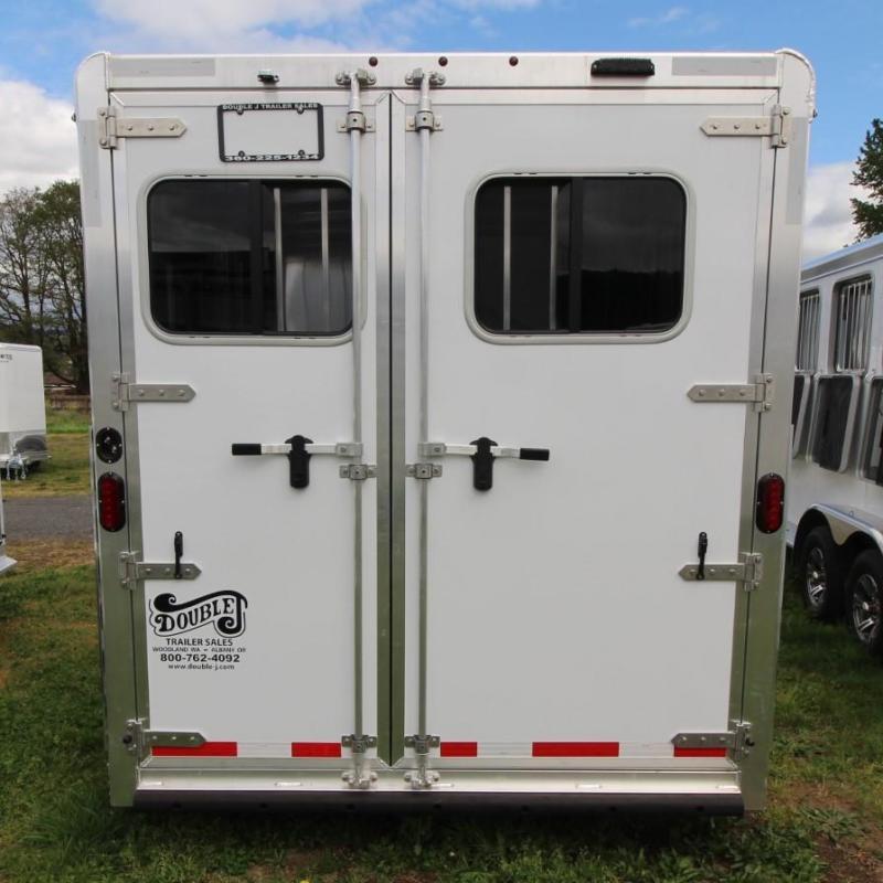 2021 Exiss EXPRESS 3 HORSE TRAILER - EASY CARE FLOORING- EXTRUDED ALUMINUM Horse Trailer