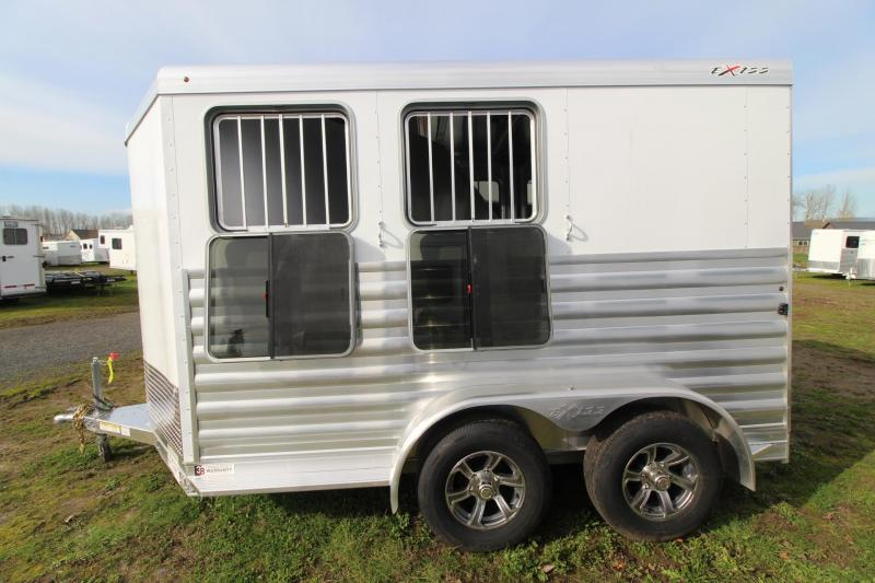 2021 Exiss EXPRESS 2 HORSE TRAILER BP - EASY CARE FLOORING