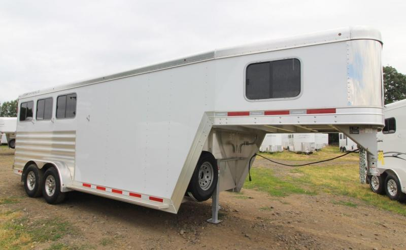 2020 Featherlite 7541 - Legend 3 Horse Trailer - All Aluminum - LARGE Dressing Room - Rear Tack PRICE REDUCED $1490