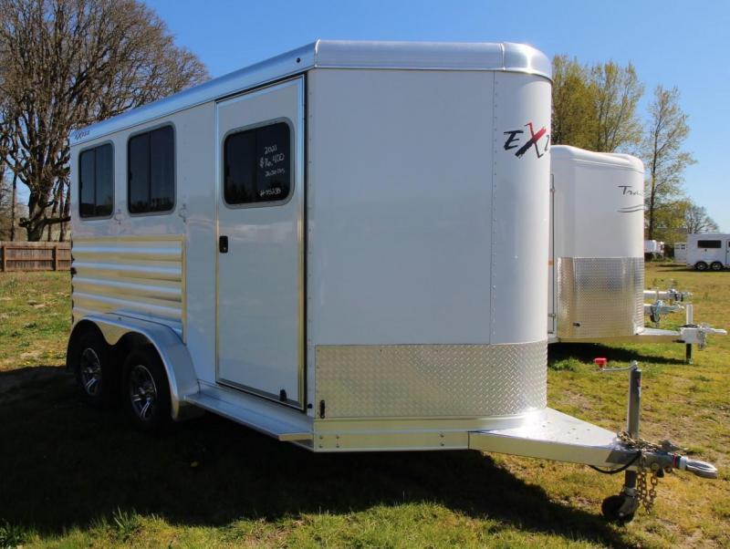 2021 Exiss EXPRESS XT 2 HORSE TRAILER - EASY CARE FLOORING