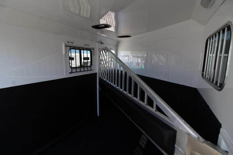 2020 Trails West Sierra II - Insulated horse area  2 Horse Trailer PRICE REDUCED $560