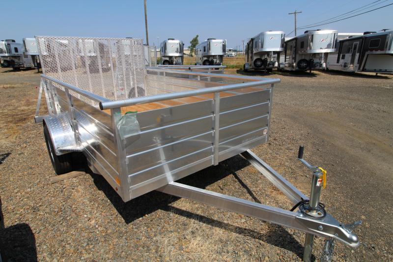 "2020 Eagle 6"" x 10"" Ultralite Utility Trailer- Aluminum Construction - Pressure Treated Wood Decking"