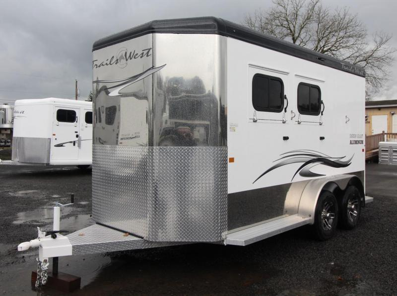 "2021 Trails West SIERRA SELECT 2 Horse Trailer - 7'6"" TALL"