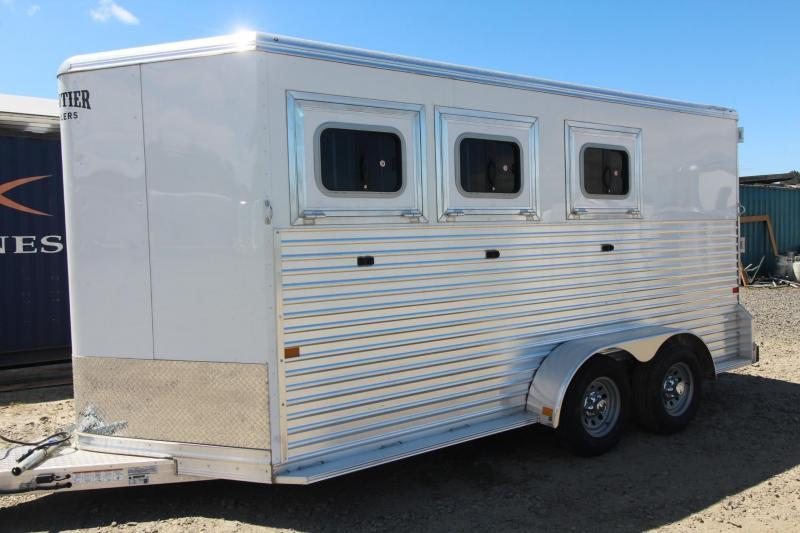 2022 Frontier Strider 3 Horse Trailer