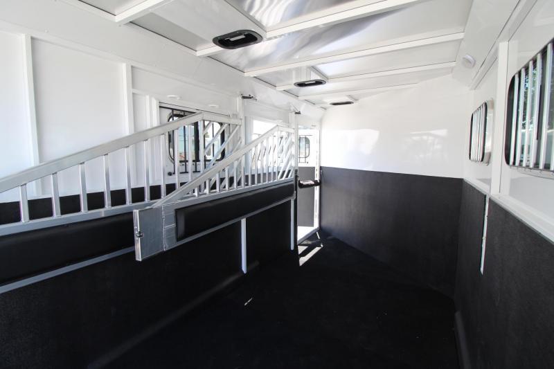 "2020 Trails West Classic II Warmblood 7'6"" Tall 3 Horse Trailer Steel frame aluminum skin"