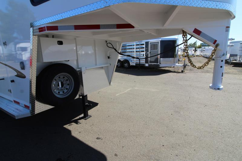 2020 Trails West Classic 3 Horse Trailer - Upgraded Comfort Package -  First Stall Escape Door - Extra Tall 7'6""