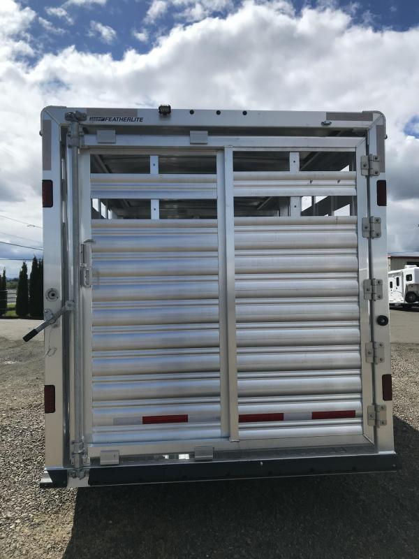 2021 Featherlite 8127 24' Stock Livestock Trailer
