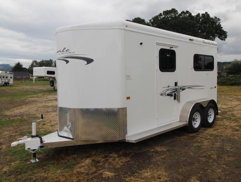 2021 Trails West ROYALE PLUS - 2 HORSE TRAILER - CONVENIENCE PKG Horse Trailer