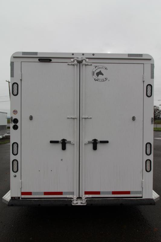2021 Trails West Manufacturing 4H BP Classic Horse Trailer