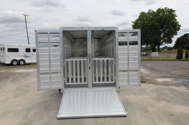 2020 Exiss Exhibitor 615A Livestock Trailer