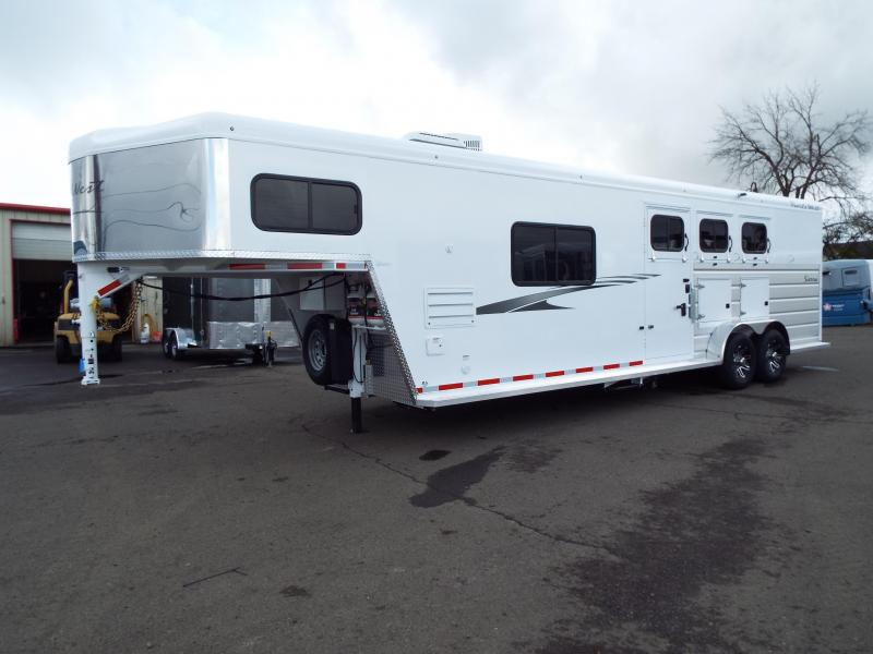 2020 Trails West Trails West Sierra 3H 10x15 LQ Horse Trailer - PRICE REDUCED $1200!