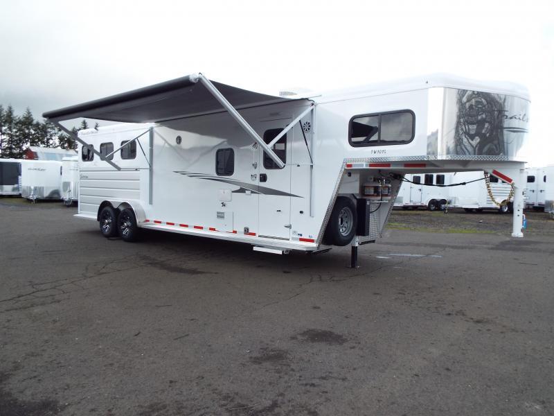 2020 Trails West Trails West Sierra 3H 10x15 LQ Horse Trailer - PRICE REDUCED $1200!