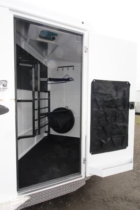 2021 Trails West Adventure MX- Swing Out Saddle Racks- 26 Gallon Water Tank-  LED Load Lights