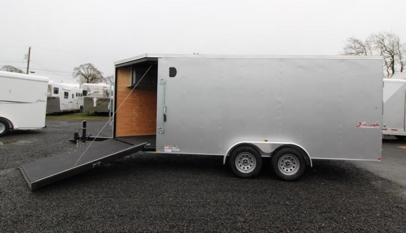 2020 Mirage Xplorer 7x20 Snowmobile Enclosed Cargo Trailer - TA - Sport Summit Package - PRICE REDUCED $1150!