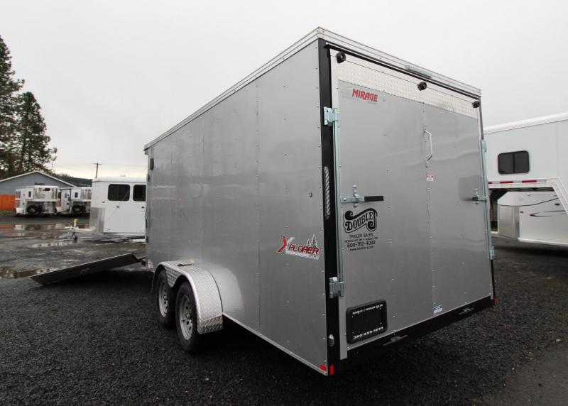 2020 Mirage Xplorer 7x20 Snowmobile Enclosed Cargo Trailer - TA - Sport Summit Package - PRICE REDUCED $800!