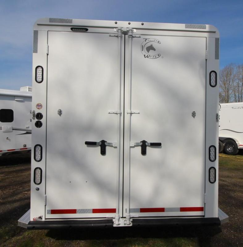 2021 Trails West CLASSIC LQ 3 HORSE TRAILER 8x13 FOLDING REAR TACK