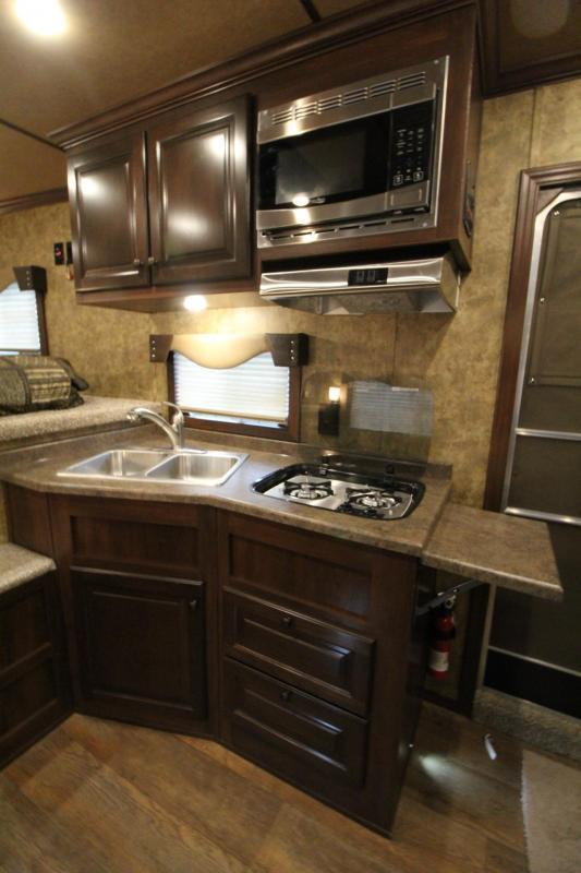 2019 Exiss Endeavor 8310 Living Quarters 3 Horse Trailer 8' Wide 10' Short Wall  Easy Care Flooring Upgraded Interior  See Below for Many Upgrades PRICE REDUCED $2000
