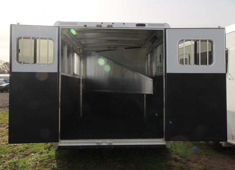 2021 Exiss EXPRESS 2 HORSE TRAILER - EASY CARE FLOORING