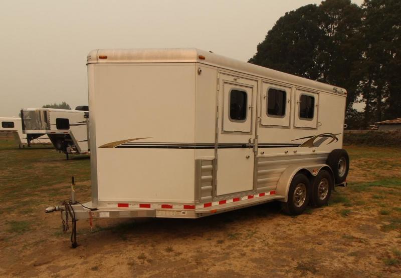 2008 4-Star 3 HORSE TRAILER - BUMPER PULL
