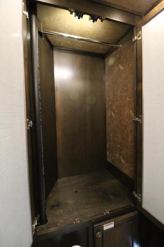 Featherlite 9821 Living Quarters - 15'  w/ Slide Premium Interior - Easy Care Flooring - PRICED BELOW OUR COST!