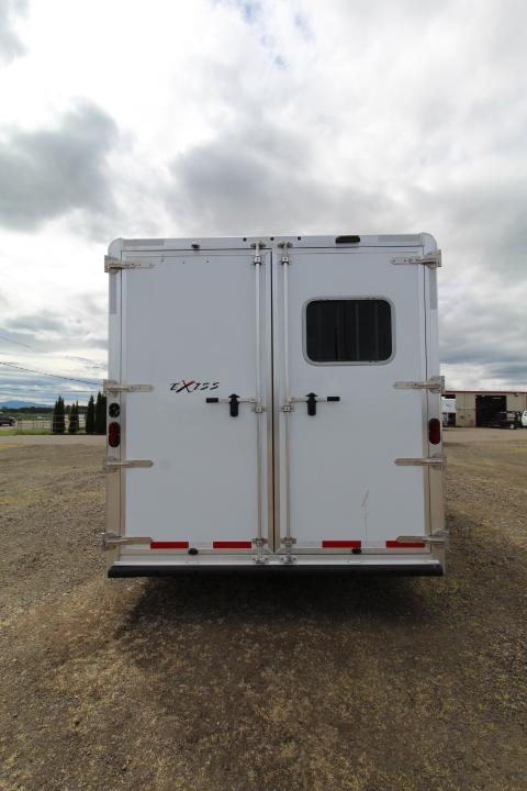 2021 Exiss Trailers Endeavor 8210 Horse Trailer