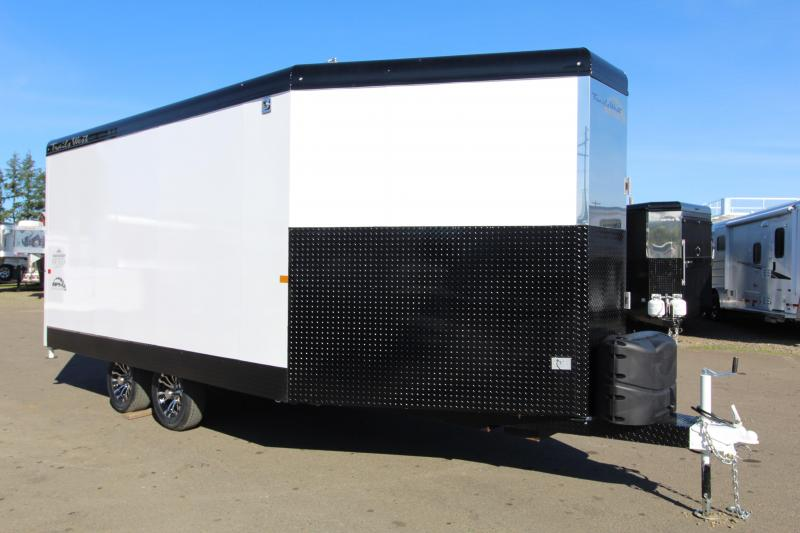 2021 Trails West 20' RPM Snowmobile Trailer
