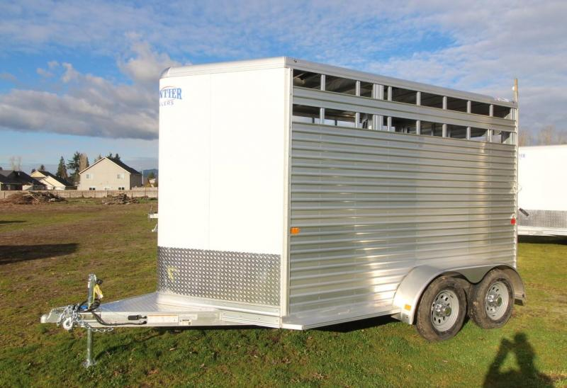 "2021 Frontier COLT LS 7'6"" TALL -LITE (WOOD DECK) Horse Trailer"