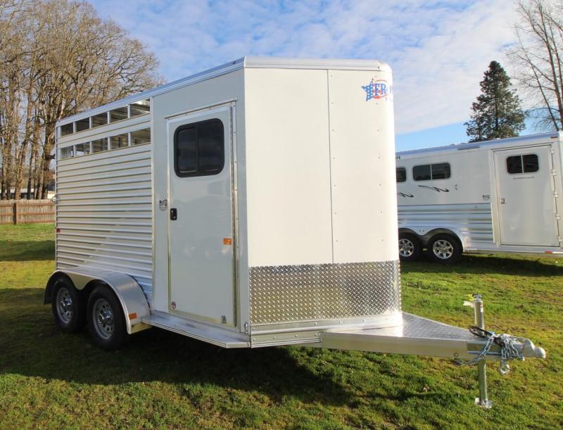 "2021 Frontier COLT LS HORSE TRAILER 7'6"" TALL -LITE"