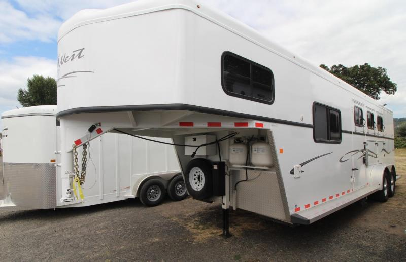 2016 Trails West CLASSIC STEEL 8x13 Horse Trailer