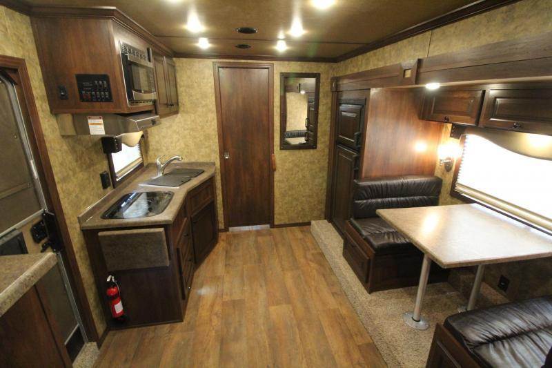 2019 Exiss Endeavor 8312 Living Quarters w/ 12' Short Wall 3 Horse Trailer - Easy Care Flooring - All Aluminum - Spare Tire PRICE REDUCED $5700