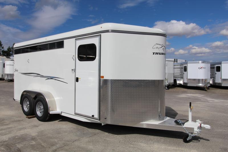 2021 Thuro-Bilt Shilo 3 Horse Trailer - Drop down windows - Double Wall construction