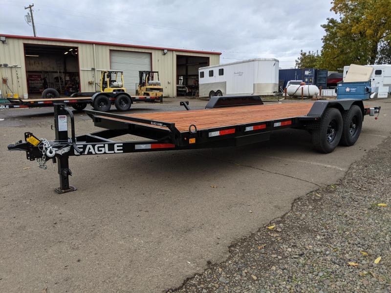 2022 Eagle 7x20 Flatbed Utility Trailer