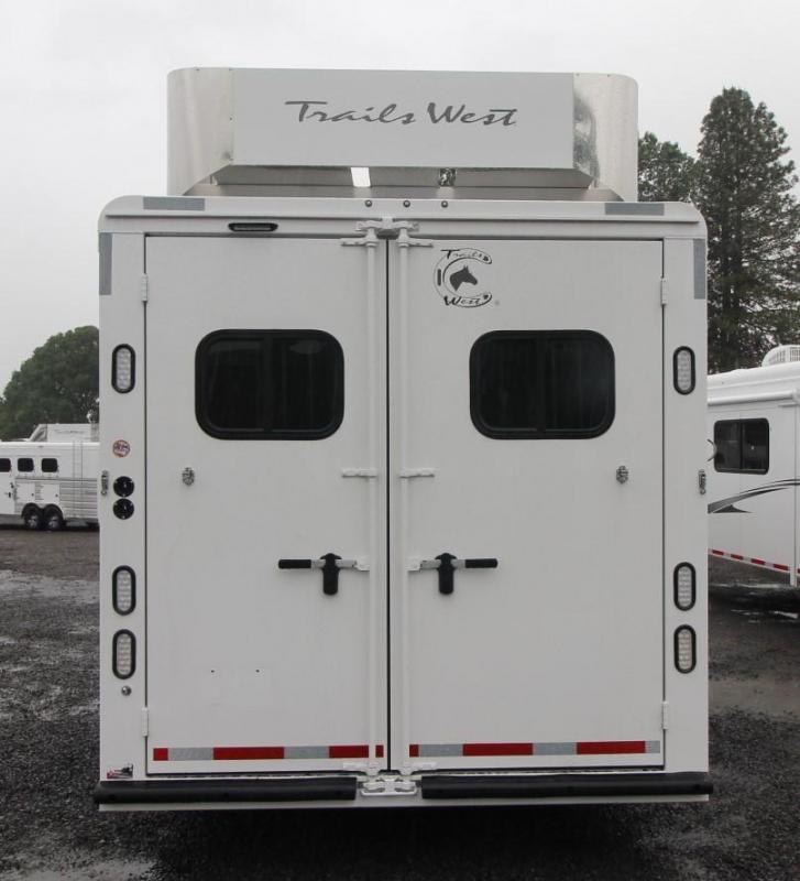 2022 Trails West Sierra 13x13 LQ Slide-Out - Side Tack - Hay Rack Horse Trailer