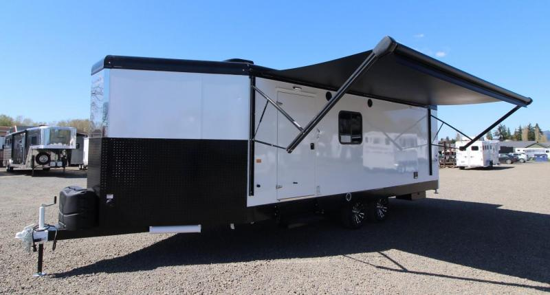 2022 Trails West FREERIDE 28' BUMPER PULL TOY HAULER TRAILER - FUEL CELL W/ PUMP