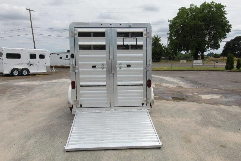 2020 Exiss Trailers Exhibitor 615A Livestock Trailer