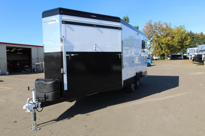 2021 Trails West RPM 28' Snowmobile Trailer