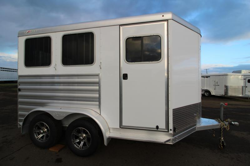 2021 Exiss Express XT 2 Horse Trailer-Easy Care Floor