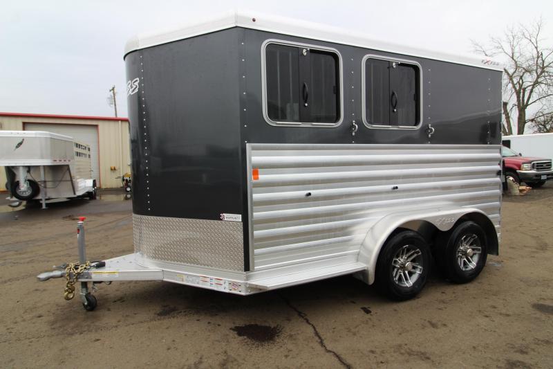 2020 Exiss Express XT 2H BP Horse Trailer - Easy Care Flooring - All Aluminum Construction