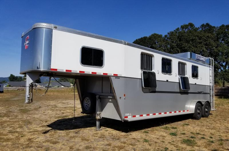 2016 Charmac 4HS Horse Trailer with Ramp and Hayrack