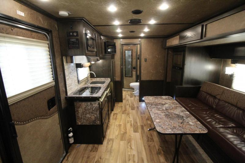 New Featherlite 9821 Living Quarters - 15'  w/ Slide Premium Interior - Easy Care Flooring - RICE REDUCED $8050