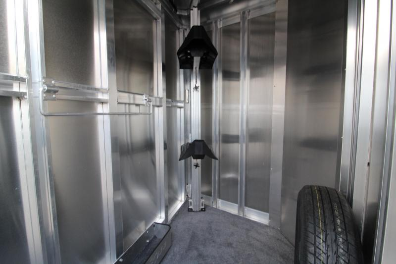2020 Exiss CXF 2 Horse Trailer - Drop Down Windows - Tail Side Stock Style Air Gaps