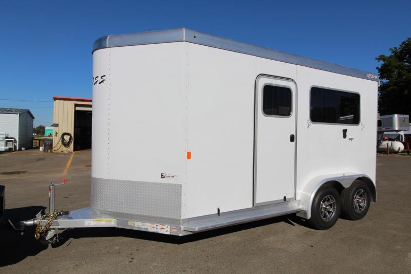 2021 Exiss 724 Warmblood Size Straight Load Horse Trailer Rear Ramp PRICE REDUCED