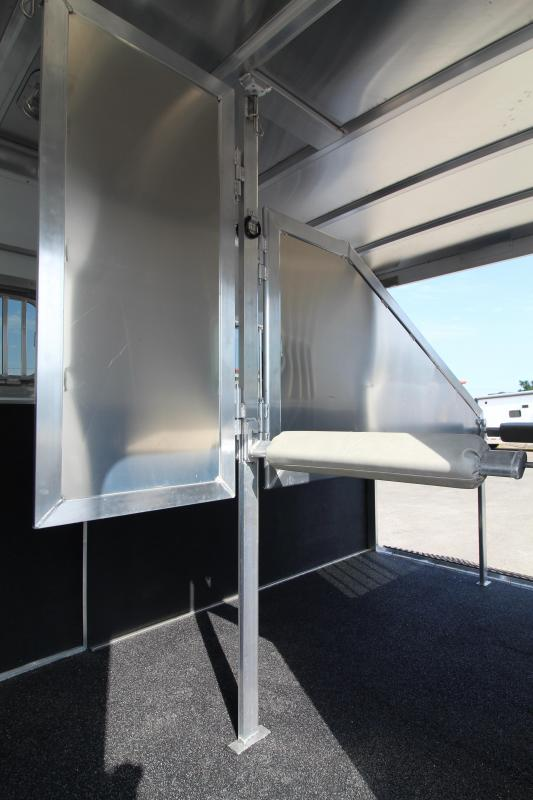 2021 Featherlite 7442 2 Horse Trailer - Easy Care Flooring - Wave Panel Exterior