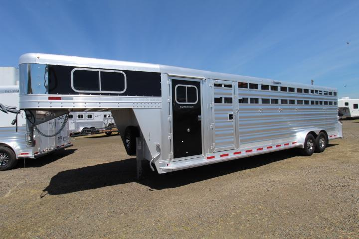 2021 Platinum Coach 6 Horse Trainer Trailer-Double Tack Doors-Easy Care Floor-30 Bridle Hooks