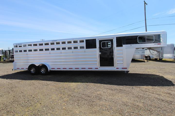 2021 Platinum Coach 6 Horse Trainer Trailer-Double Tack Doors-Easy Care Floor-30 Bridle Hooks