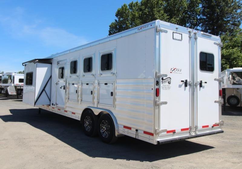 NEW 2019 Exiss Trailers 8410 4 Horse Trailer - Slide Out-All Aluminum - Easy Care Flooring -  PRICE REDUCED $3090