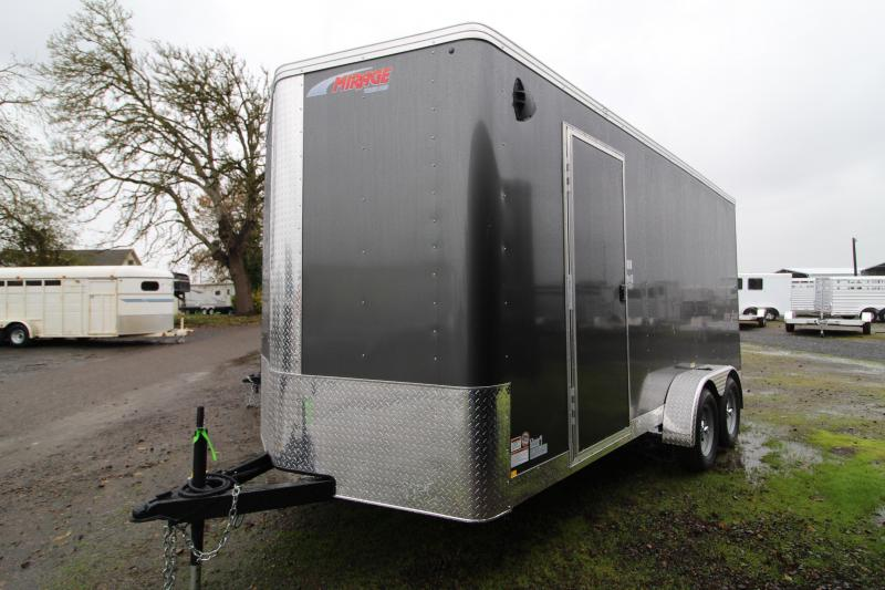 2021 Mirage Xpres 7x16 Enclosed Cargo Trailer-  Side by Side package
