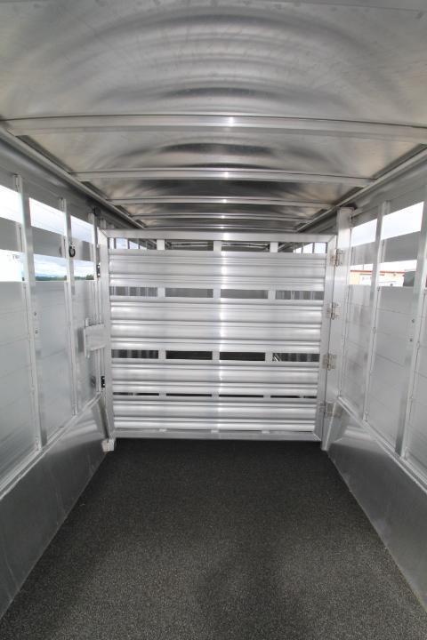 2021 Featherlite 24' Stock Combo-4' Tack Room-Easy Care Floor Livestock Trailer
