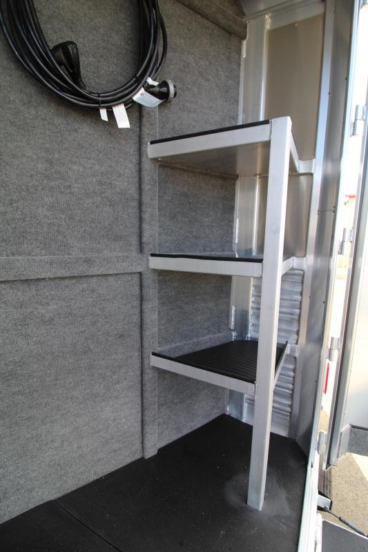 REORDERED 2021 Platinum 3H Side Load-10' SW Outlaw LQ-Couch on Drop Wall-Hay Rack-Stunning Interior-